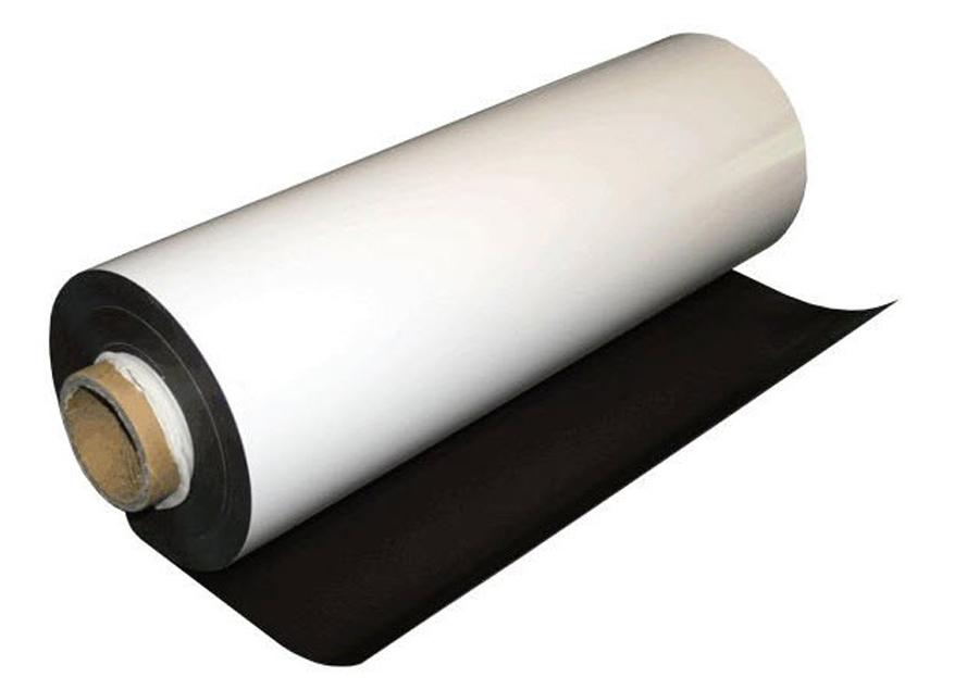 Мягкое полимерное железо c клеевым слоем (рулон)