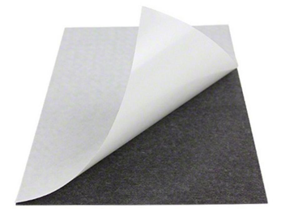 Мягкое полимерное железо c клеевым слоем (лист)