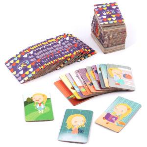1 доска-планнер 3 поля 18 окошек на магнитах 100 карточек 93 иллюстрации с различными действиями и заданиями